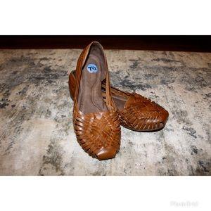 SOUL Naturalizer Boho Leather Flats